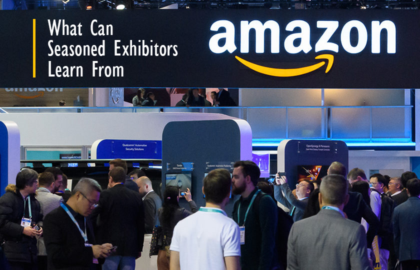 What Can Seasoned Exhibitors Learn From Amazon?
